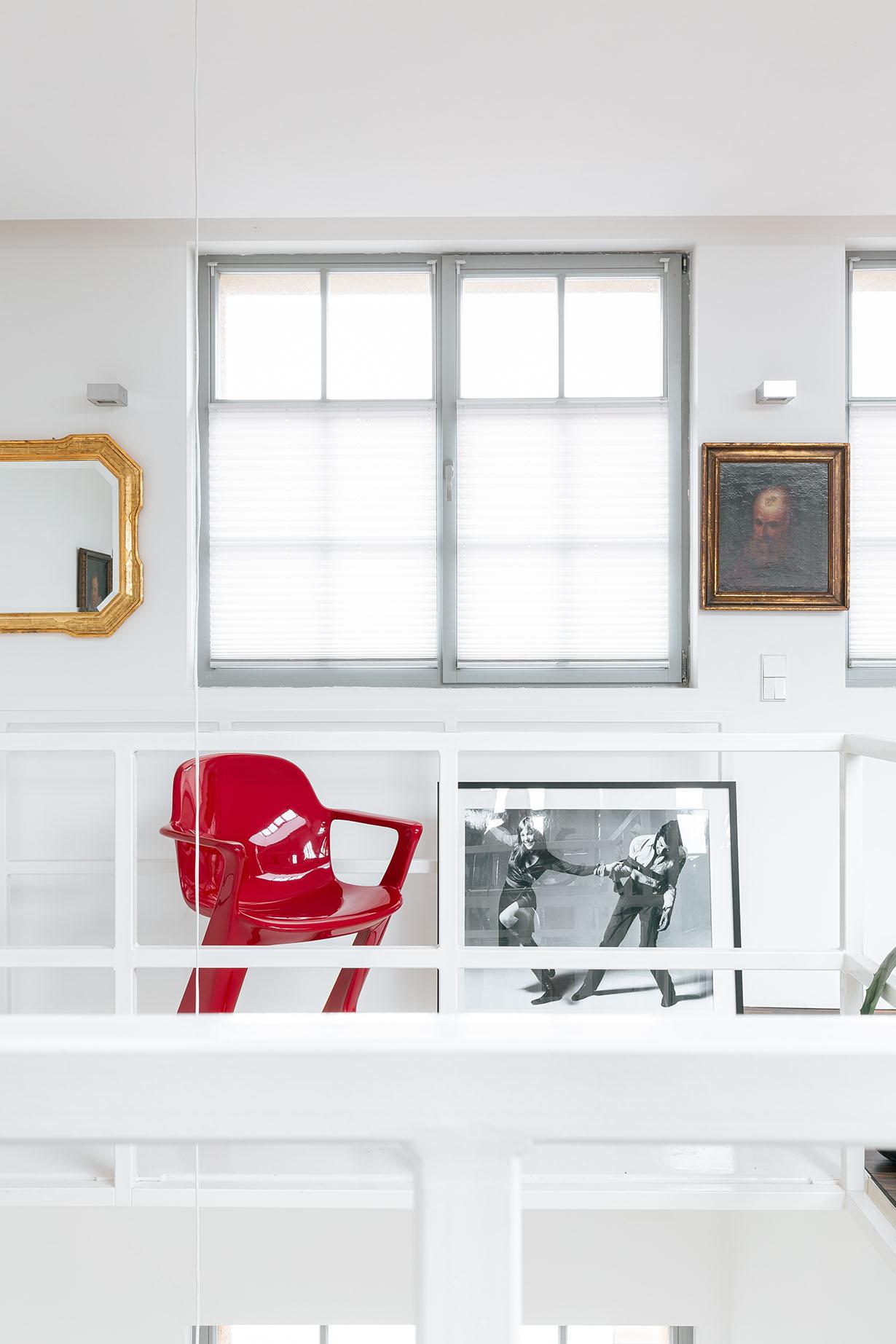 z.stuhl Klassisches Möbeldesign - Weinrot
