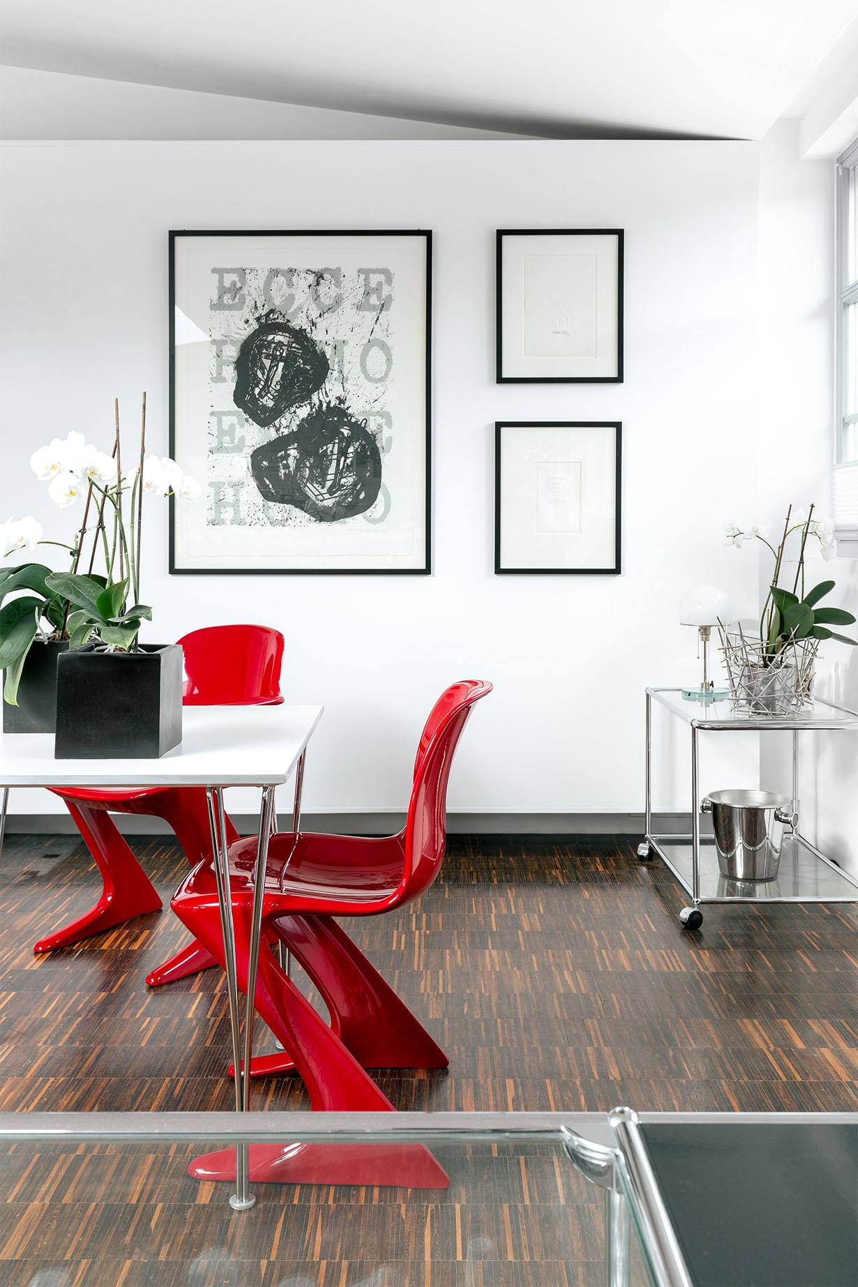 z.stuhl Klassisches Möbeldesign - Fotowand