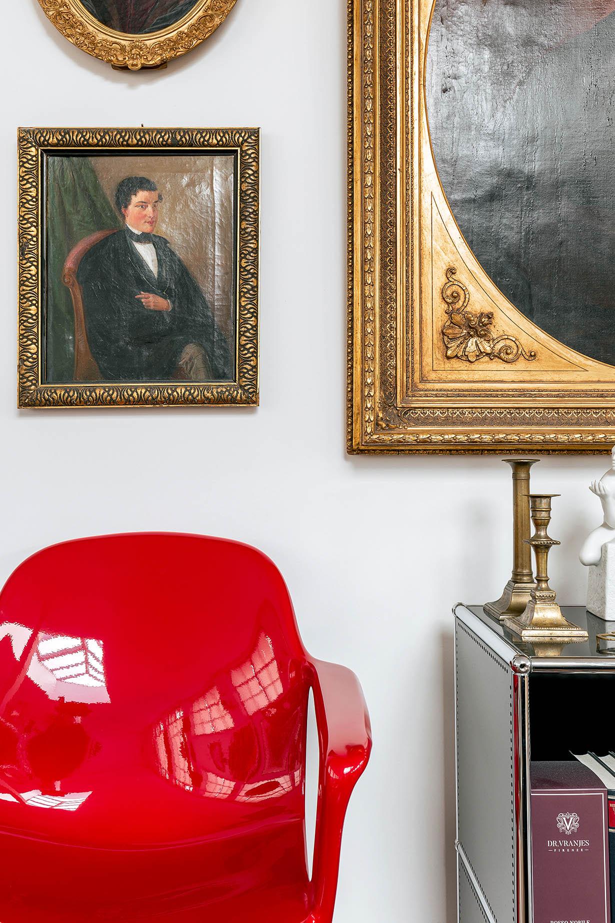 z.stuhl Klassisches Möbeldesign - Detail